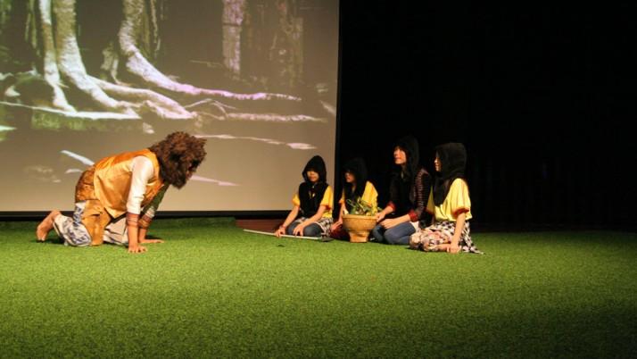 Beradu Peran Dalam Drama – Pinishi