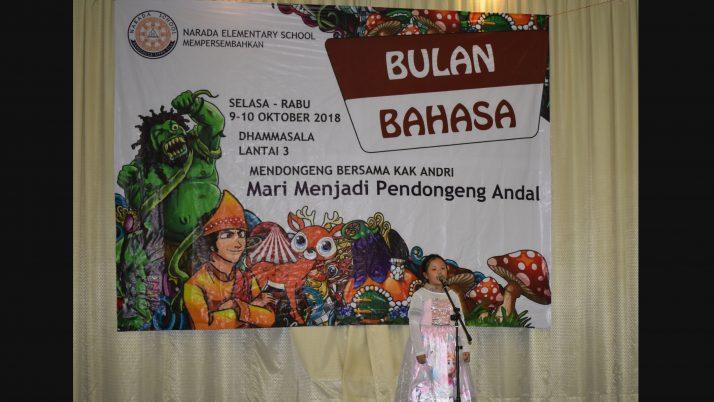 Perayaan Bulan Bahasa (Mendongeng)